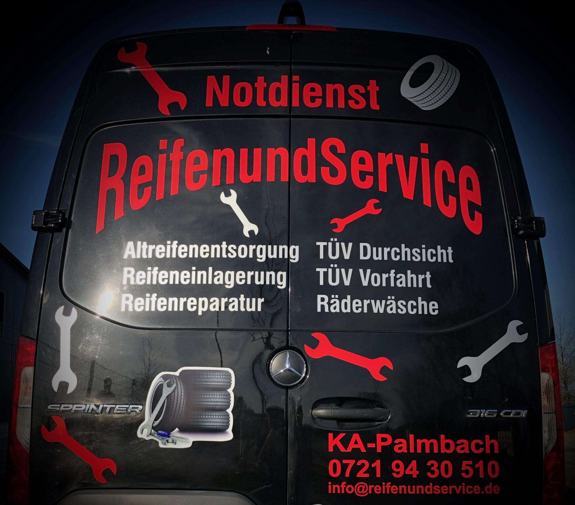 Reifen und Service in Karlsruhe Palmbach